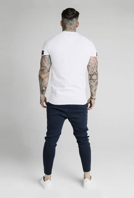 SIKSILK RAGLAN EXPOSED TECH TSHIRT