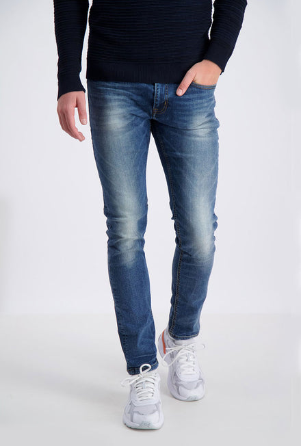 SHINE ORIGINAL LONG MOTOR BLUE JEANS