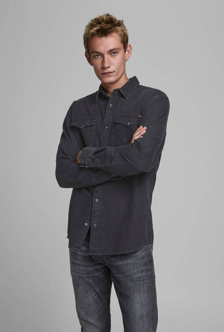 JACK AND JONES SHERIDAN DENIM SHIRT