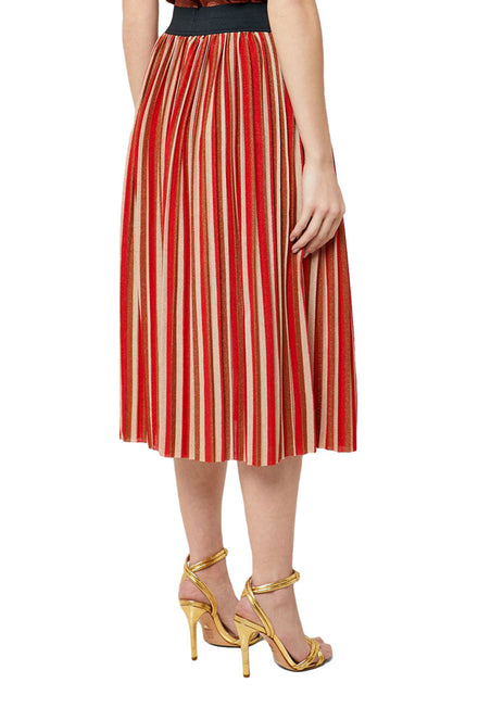 ONLY SWAY STRIPE SKIRT