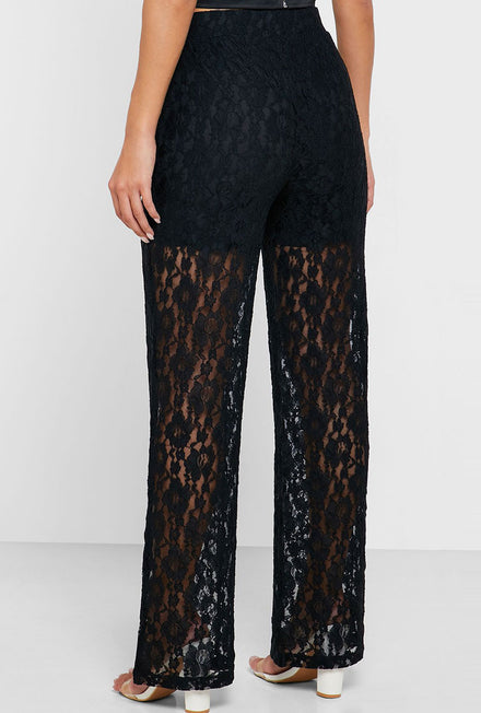 JULA WIDE LACE PANT