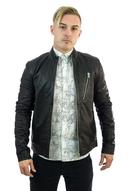 LEATHER JACKET-London Clothing Company ®