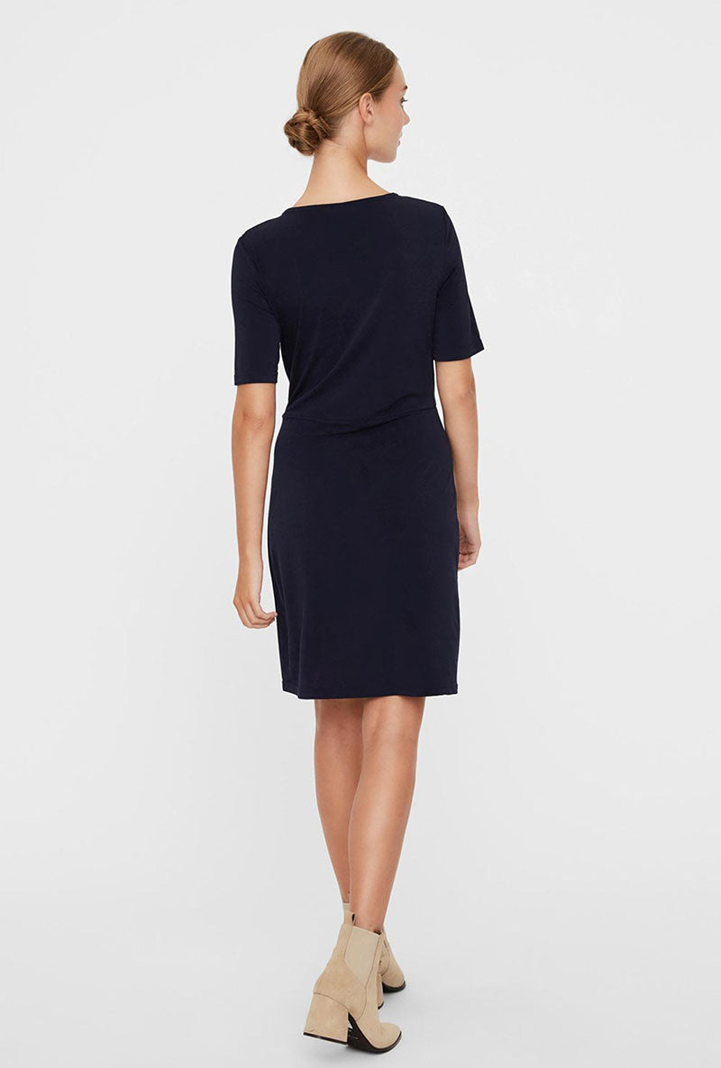 VERO MODA DANCE SHORT WRAP DRESS