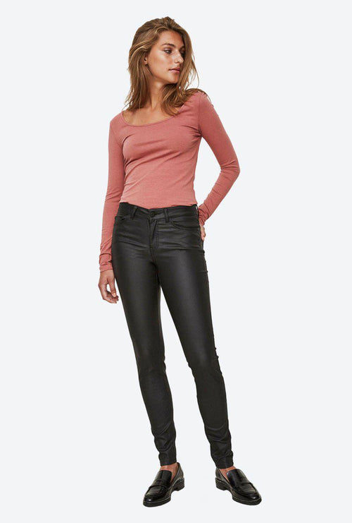 LUCY NW DELUXE COATED PANTS-London Clothing Company ®