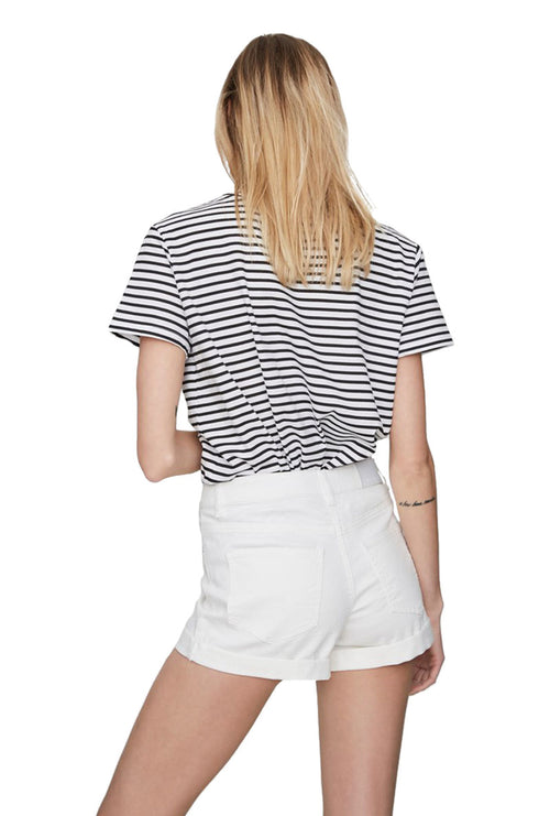 LUCY WHITE  FOLD SHORTS