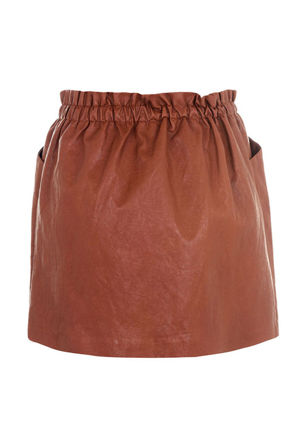 ONLY DARLING FAUX LEATHER SKIRT