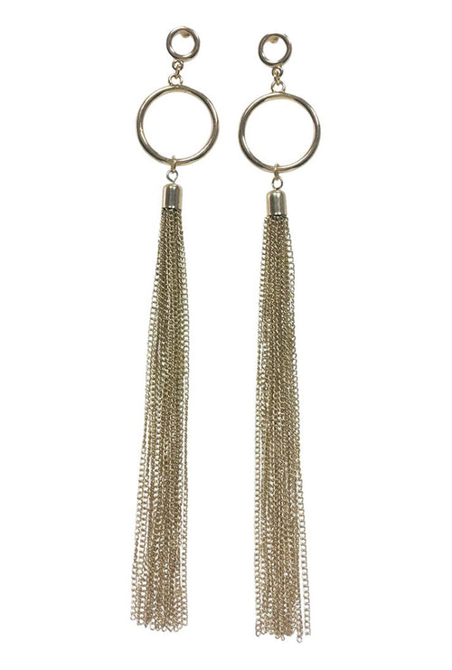 SOLVEJ LONG EARRINGS-London Clothing Company ®