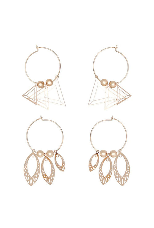 GEO EARRING-London Clothing Company ®