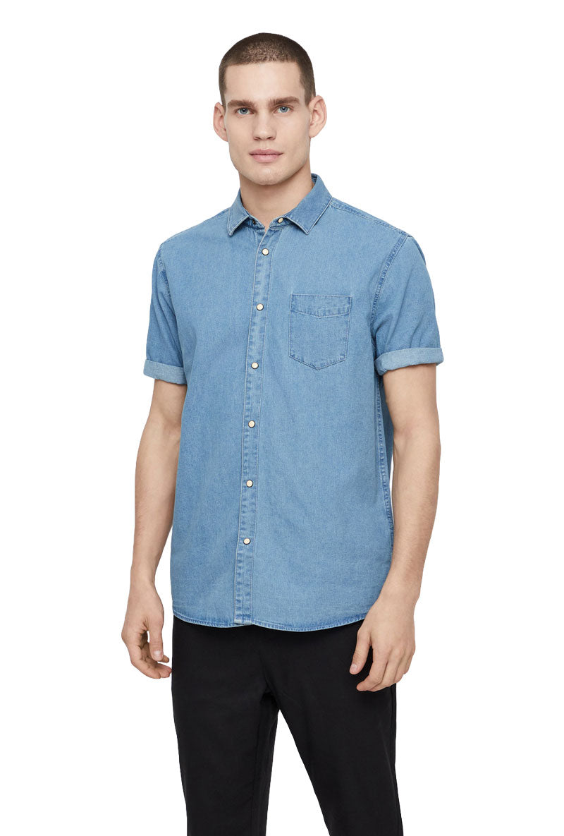 SOLID BILL DENIM SHIRT