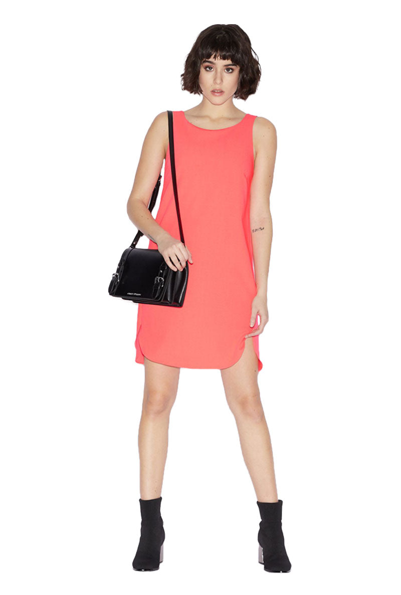 ARMANI EXCHANGE CROSS BACK DRESS