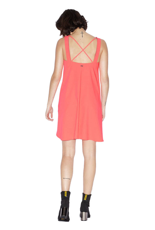 DRESS WITH DOUBLE STRAPS