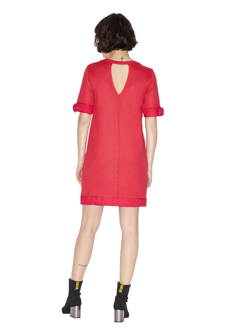 ARMANI EXCHANGE DRESS WITH OPENINGS
