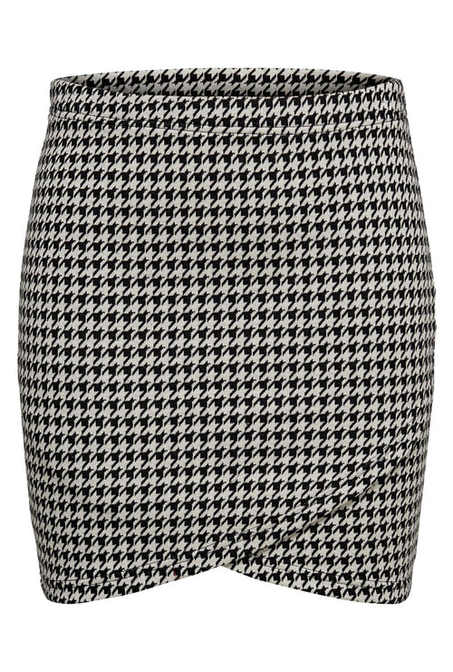 VIGGA HOUNDSTOOTH SKIRT