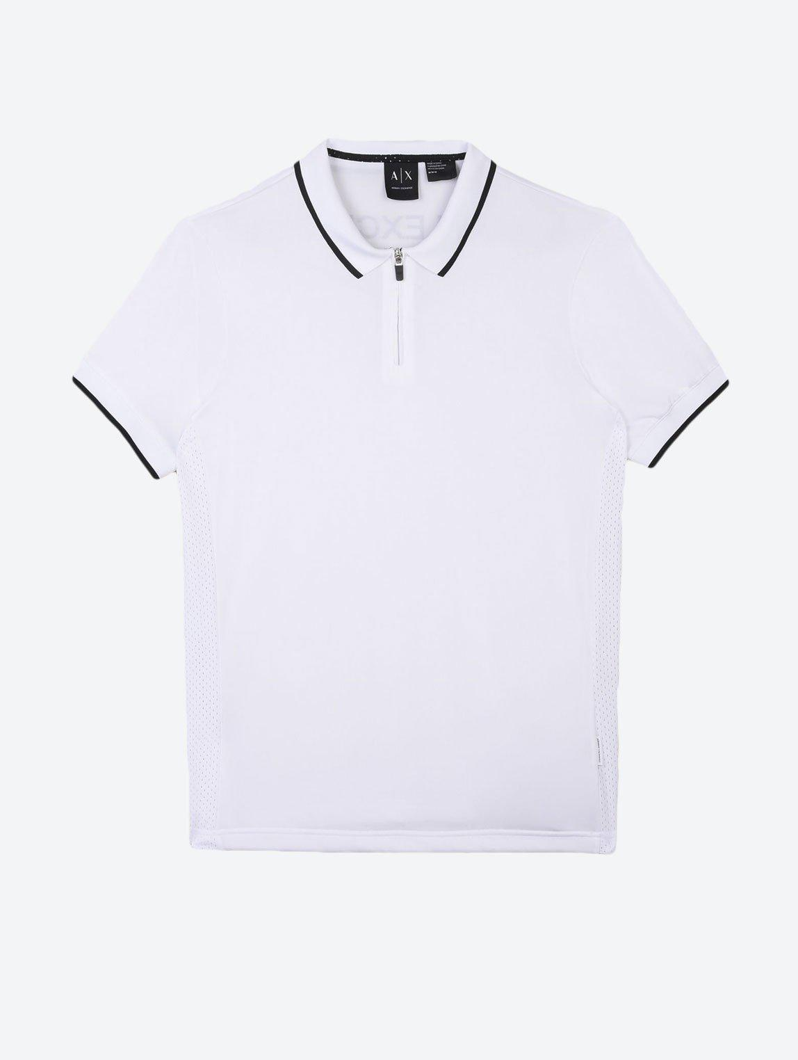 ARMANI EXCHANGE ZIP POLO