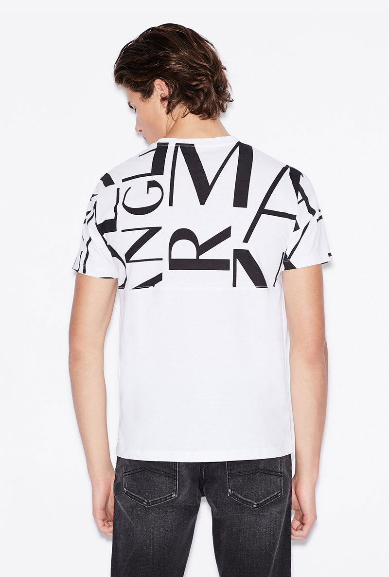 ARMANI EXCHANGE UPPER LOGO TSHIRT