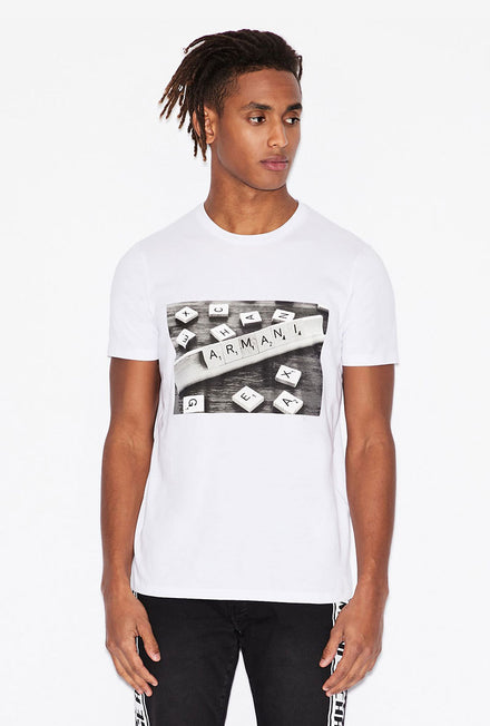 ARMANI EXCHANGE GRAPHIC TEE