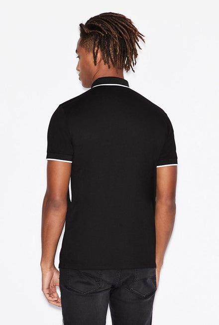 ARMANI EXCHANGE LOGO POLO