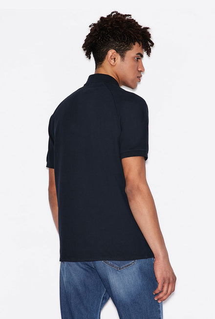 ARMANI EXCHANGE REGULAR FIT POLO
