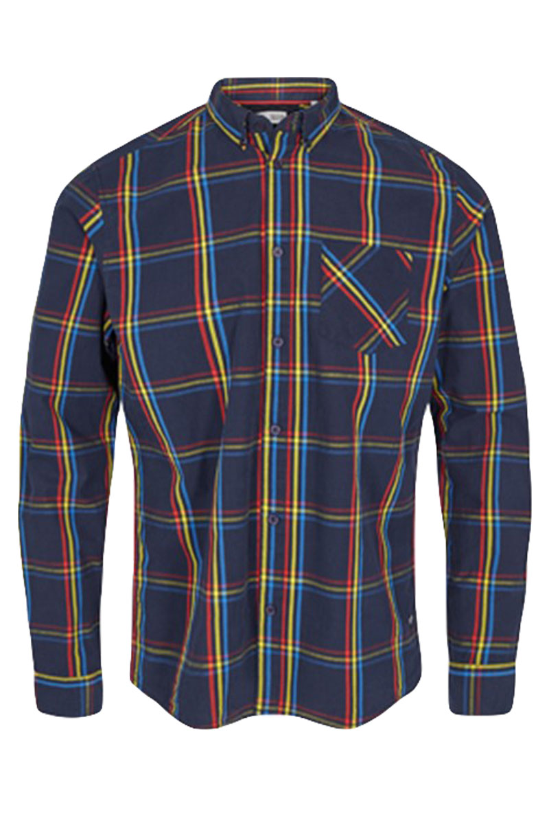 SOLID ARVID CHECK SHIRT