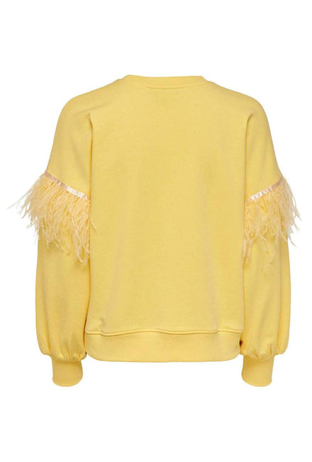 ONLY FEATHER LIFE SWEATSHIRT