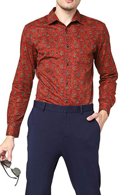 JACK AND JONES SCOTT PRINT SHIRT