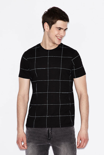 ARMANI EXCHANGE ALL OVER LOGO POLO