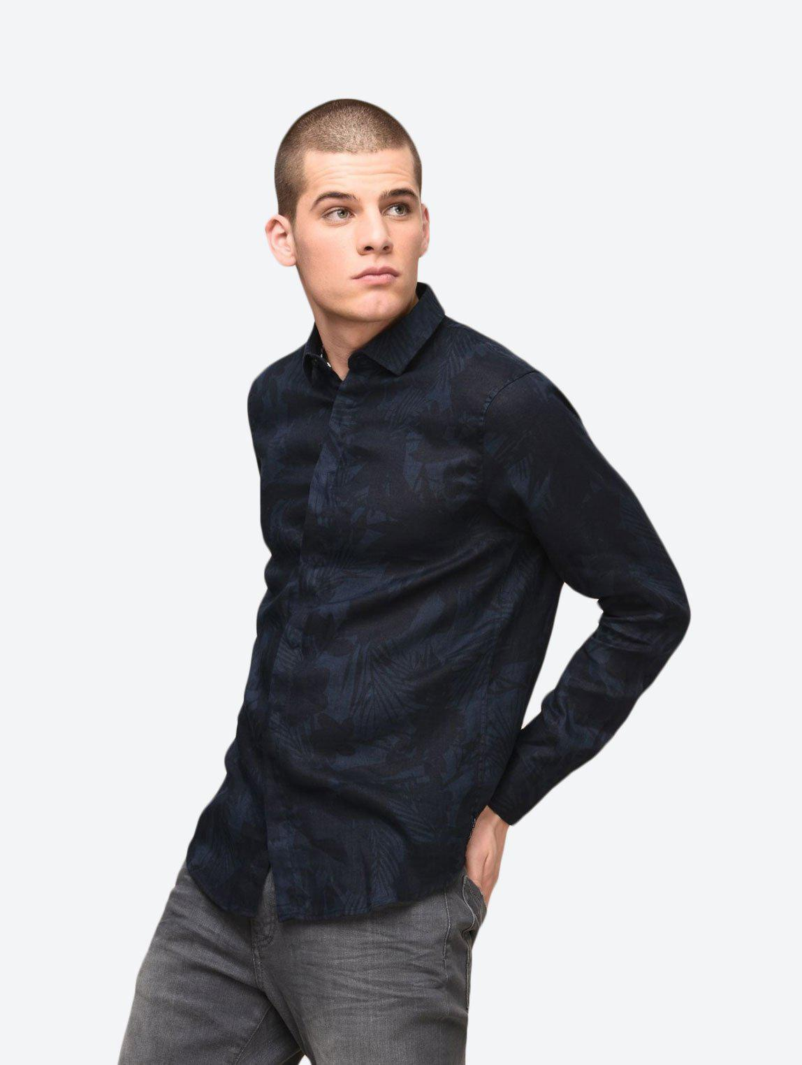 ARMANI EXCHANGE PRINTED SHIRT