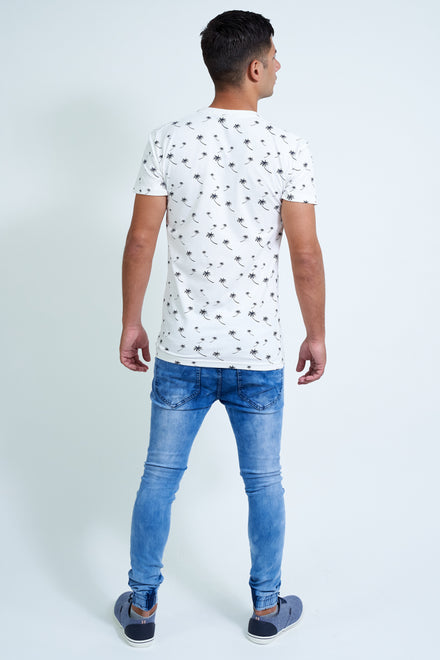 SIKSILK LOW RISE CUFFED DENIM