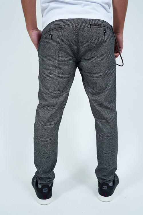 TRAVIS SLIM CROPPED TROUSERS