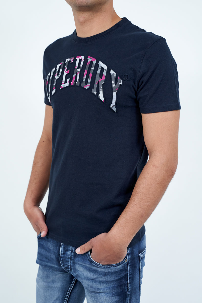 SUPERDRY CAMO EMBOSSED TEE