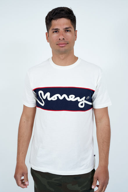 MONEY CLOTHING SIG 1 LINK PANEL TEE