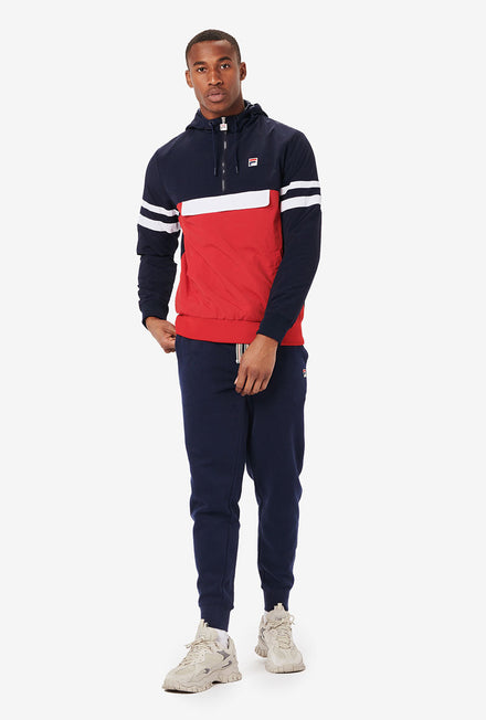 NAVY/RED / S