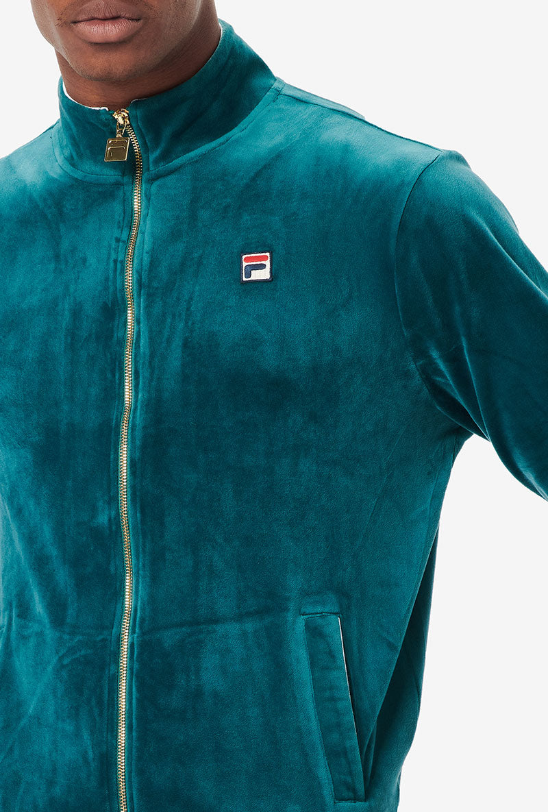 FILA IRVING VELOUR TRACK TOP