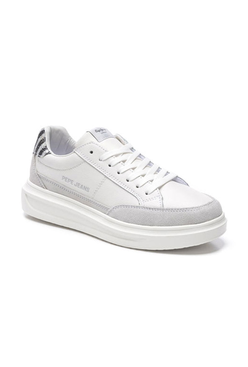 PEPE JEANS ABBEY LINES TRAINERS