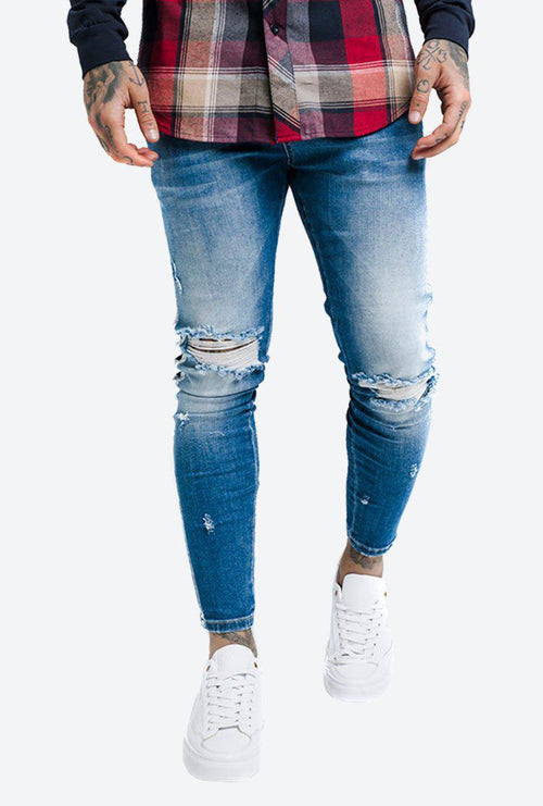 PAINT STRIPE JEAN-London Clothing Company ®