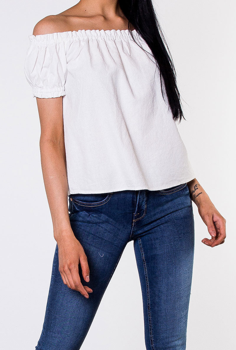 VERO MODA MILO OFF SHOULDER TOP