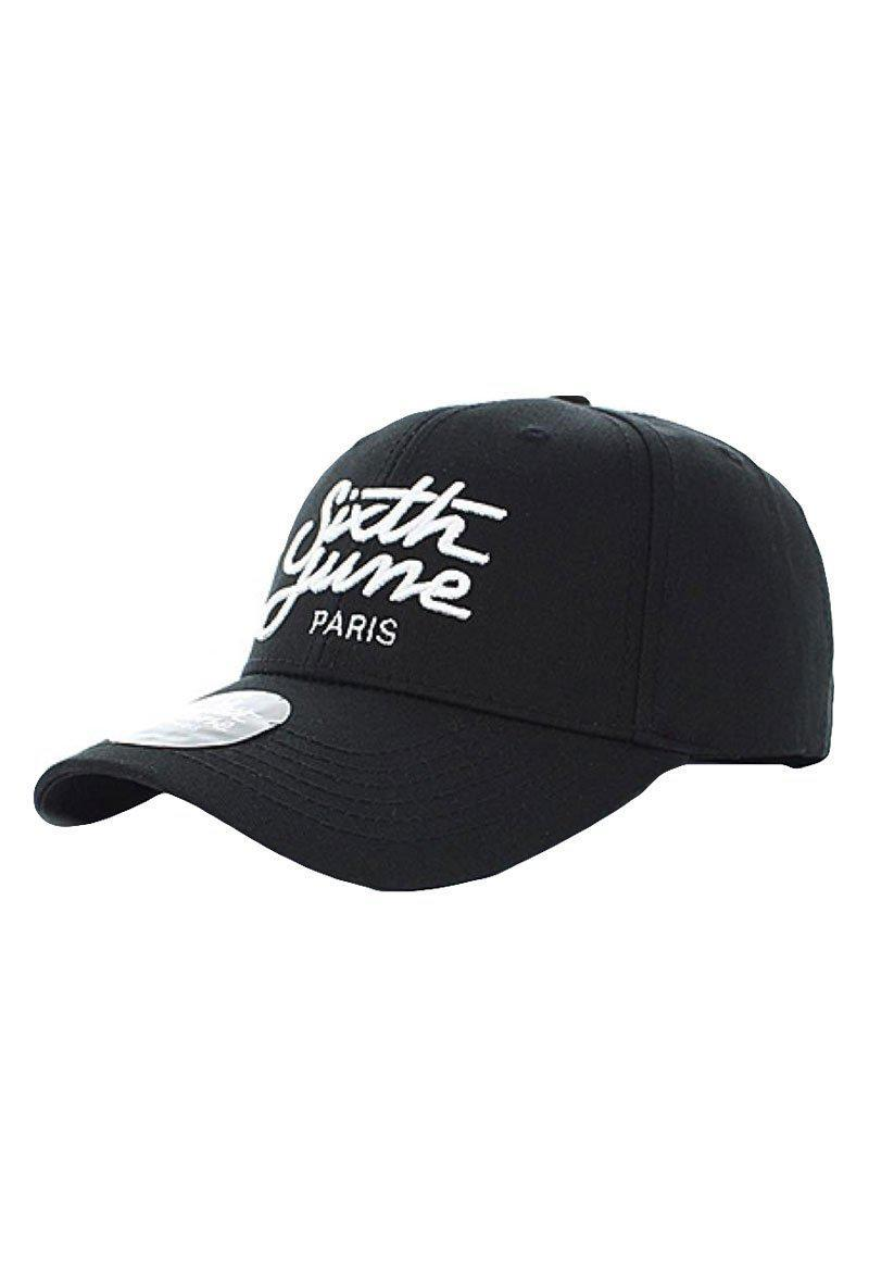 SIXTH JUNE PARIS CAP