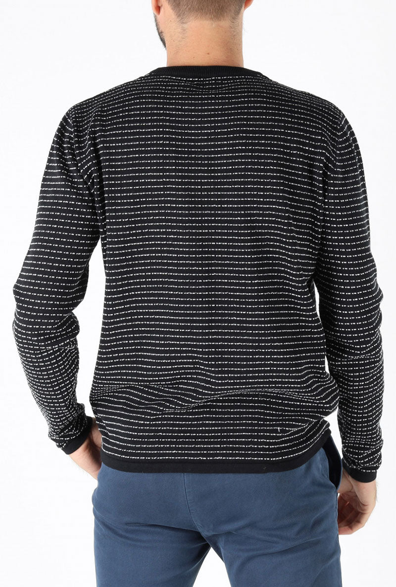 SOLID DOME O NECK KNIT