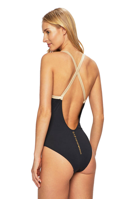 EA7 CONTRAST ALL IN ONE SWIMSUIT