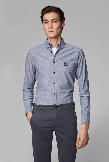 HUGO BOSS SLIM FIT OXFORD SHIRT