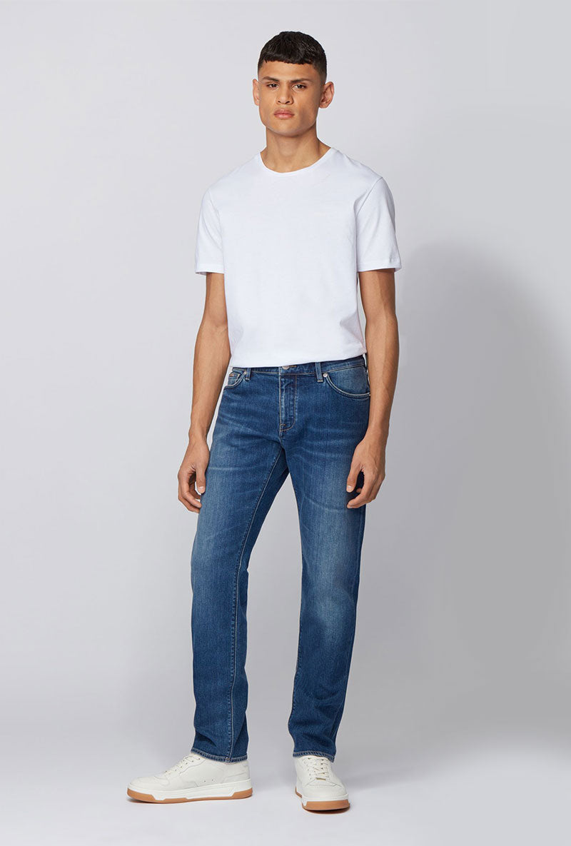 HUGO BOSS MID BLUE DENIM
