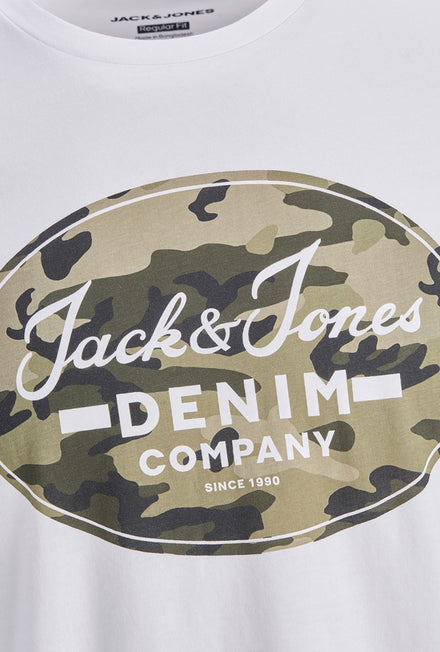 JACK AND JONES CAMOMAN TSHIRT