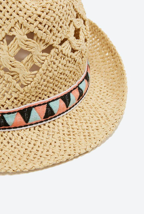 NYA STRAW HAT-London Clothing Company ®