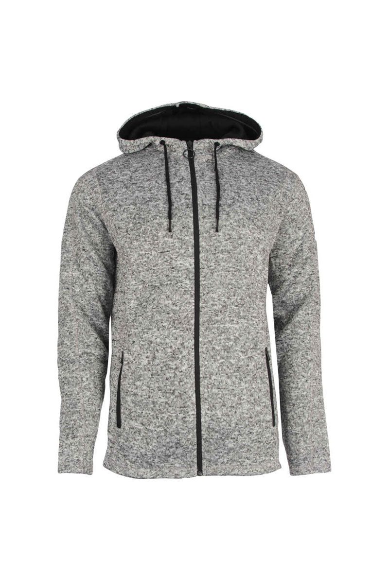 SOLID DAWSON ZIP SWEAT