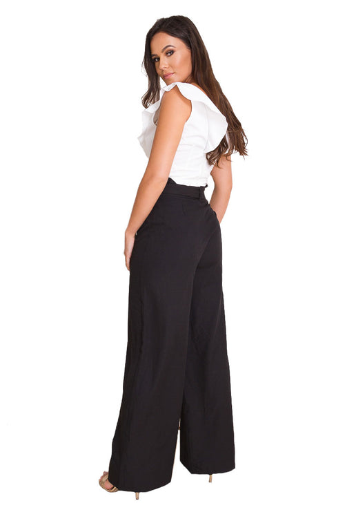 HOPE PAPER BAG WIDE LEG-London Clothing Company ®