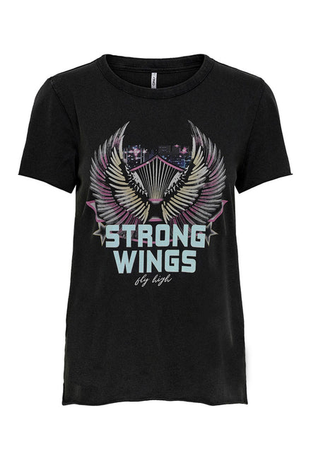 ONLY WINGS TEE