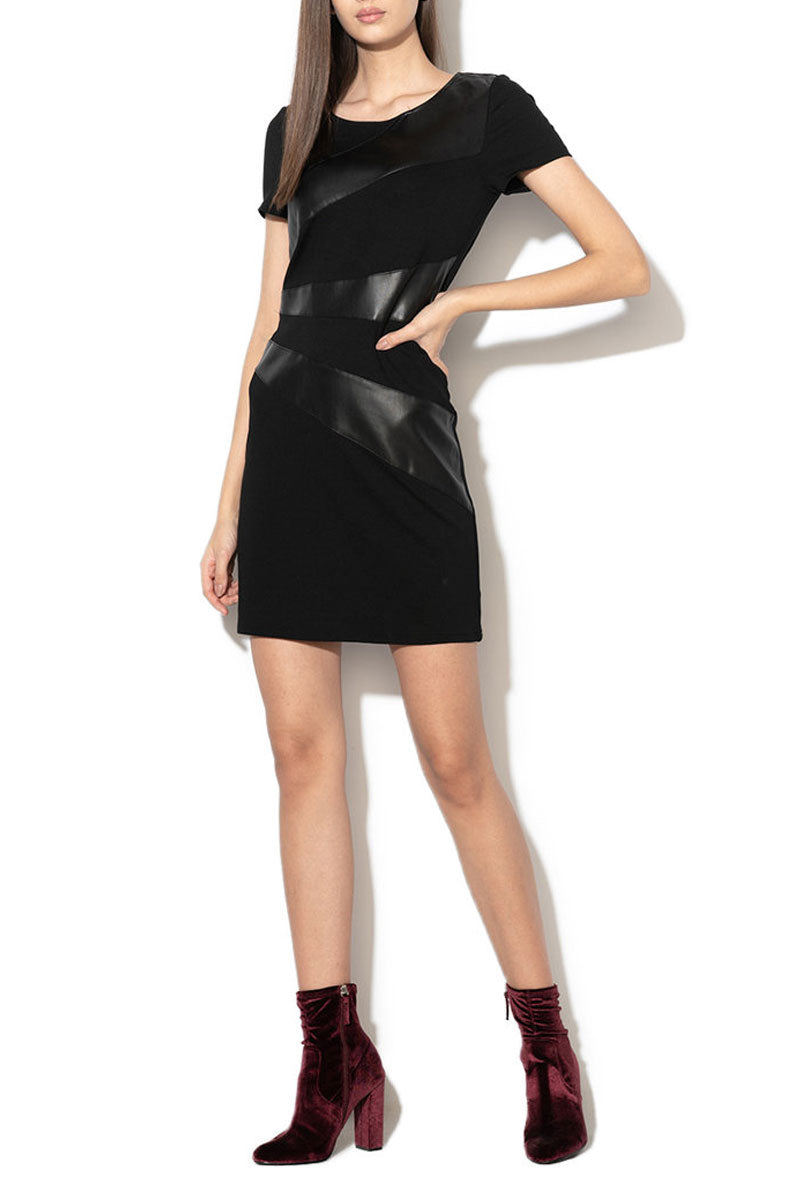 ONLY DINAS FAUX LEATHER DRESSES