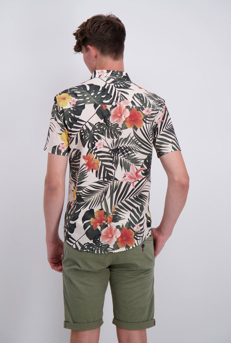 SHINE ORIGINAL FLORAL AOP SHIRT