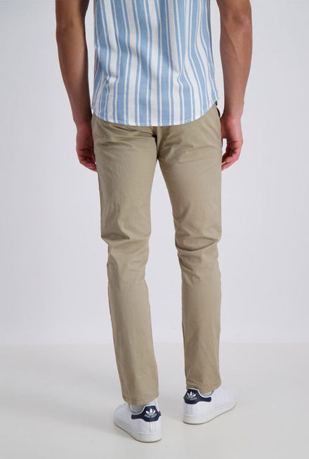 SHINE ORIGINAL STRETCH CHINOS WITH BELT