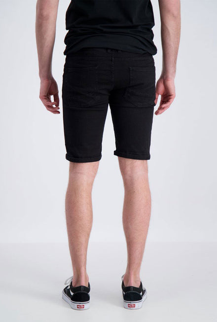 SHINE ORIGINAL REGULAR II FIT DENIM SHORTS